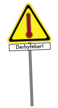 derbyfeber-skilt